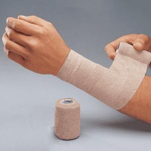 Bandagem Elástica auto-aderente CO-Plus LF - Cor Nude 7