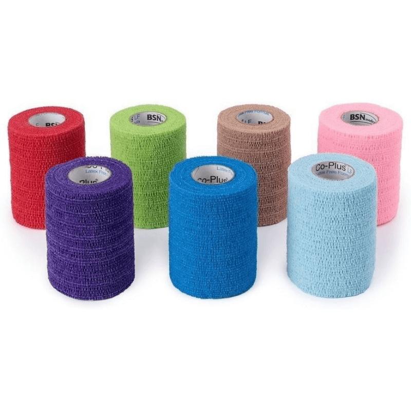 Bandagem Elástica auto-aderente CO-Plus LF - Cor Nude 10,0cm x 4,5m - Loja Mogami Brasil