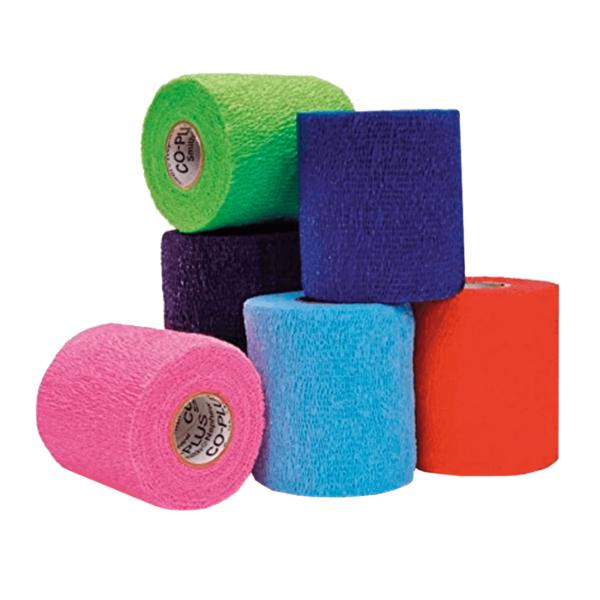 Bandagem Elástica auto-aderente CO-Plus LF - Cores Variadas - Loja Mogami Brasil