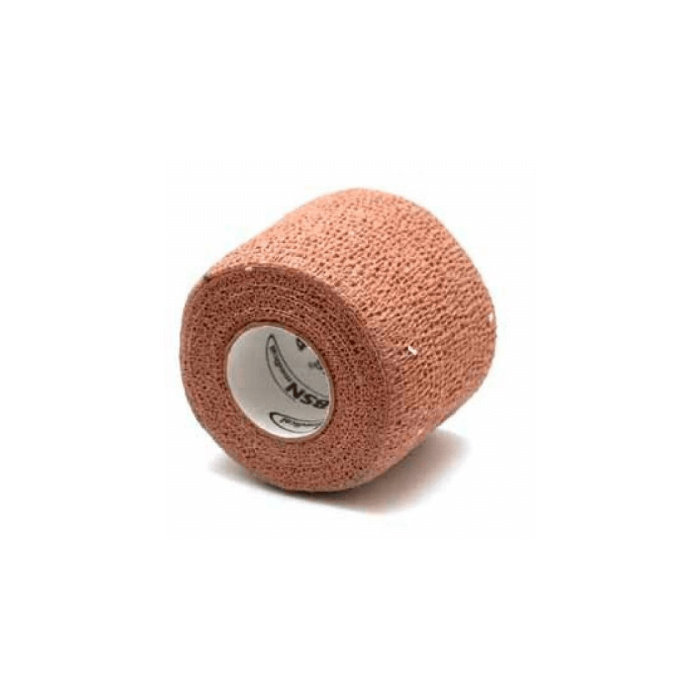 Bandagem Elástica auto-aderente CO-Plus LF - Cor Nude 2,5cm x 4,5m - Loja Mogami Brasil